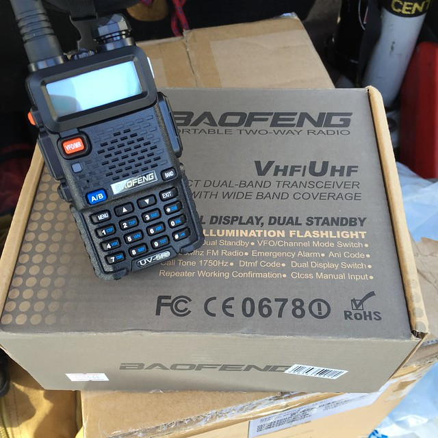 UHF Baofeng from dx.com