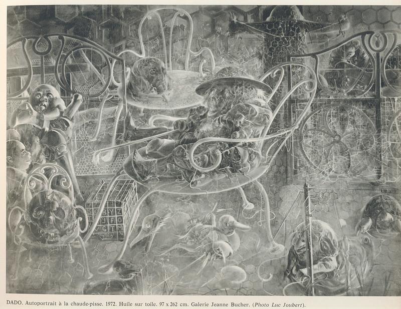 Dado - Autoportrait a la chaude-pisse, 1972