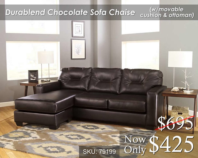 Durablend Sofa Chaise