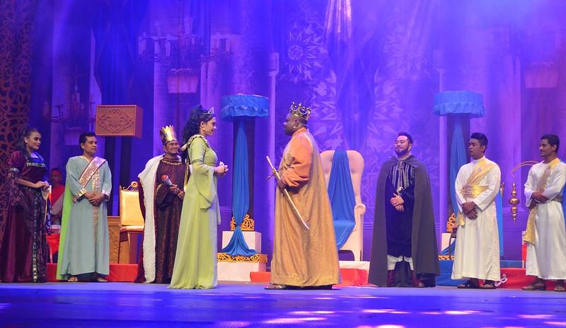 Pementasan Teater Raja Ku Puteh