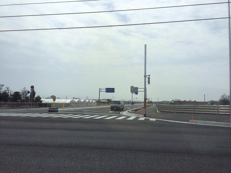 高知空港への道