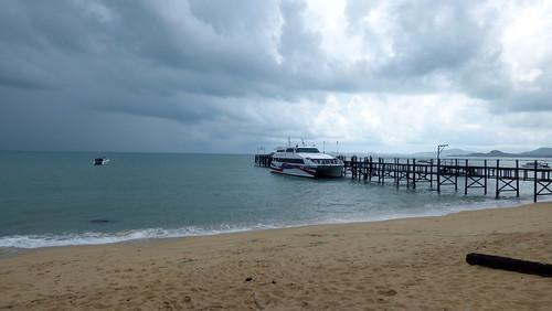 Koh Samui Lomprayah Maenam Pier