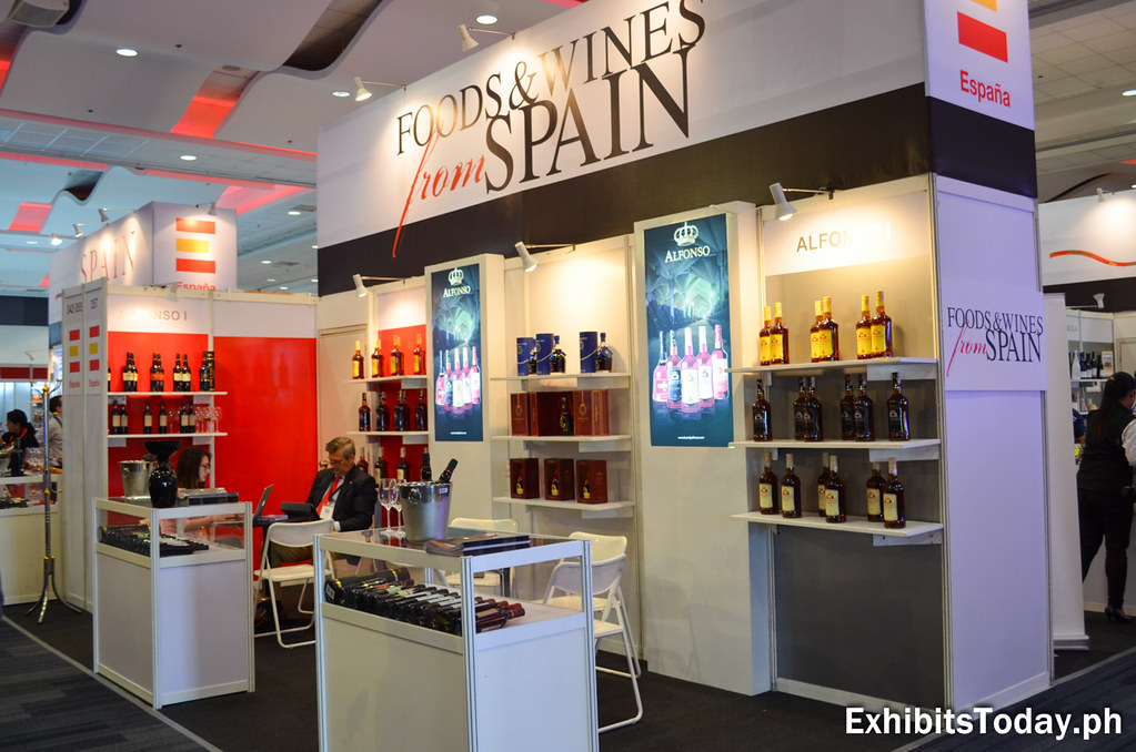 Foods & Wines from Spain Exhibit Stand