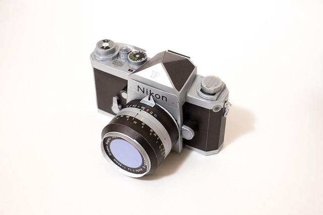 Nikon F Papercraft-3