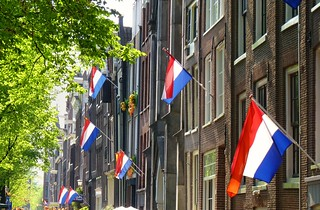 Flag Day in Amsterdam