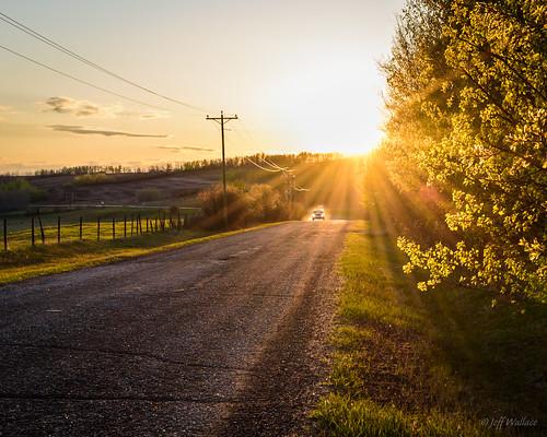 ca canada car spring warm alberta backroad countryroad goldenhour 2015 onoway