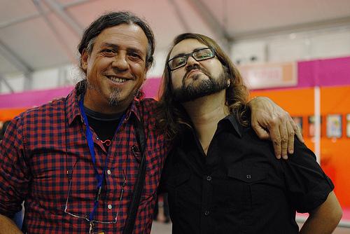 """""""Los 90 fueron una locura"""". Entrevista a Borja Crespo #comic @comicsantander"""
