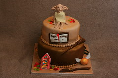 Harry Potter / Dobby cake