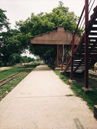 travel railway bangladesh railstation
