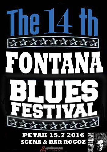 U petak 14. Fontana blues festival