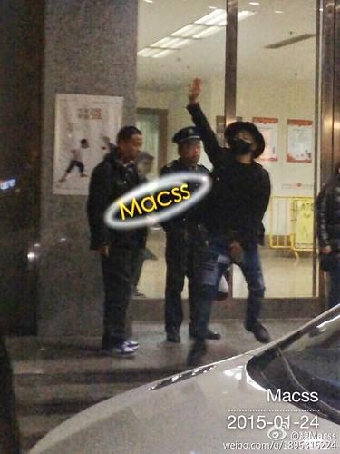 Taeyang Backstage and Leaving Shanghai 2015-01-24 - 003