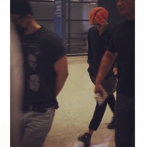 BIGBANG Arrival Seoul ICN 2015-07-13 by PENGYONGSHI 003