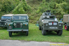 "126XUR 1961 Land Rover Series 2, 88"" SWB, RYJ146M 1974 Land Rover Series 3, 109,  Shorland Military"