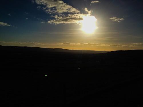 Looking west towards the Drum Hills.