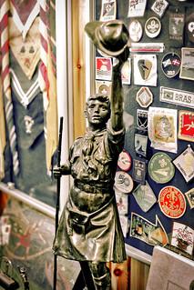 Scottish Boy Scout Bronze