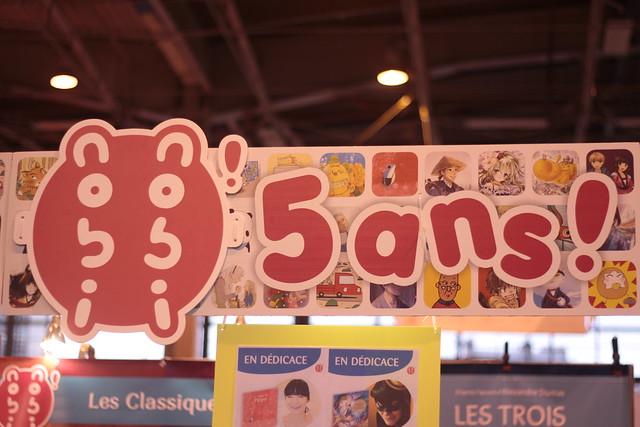 nobi nobi, 5 ans ! - Salon du Livre de Paris 2015