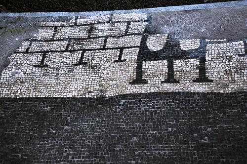 villa di livia   residuo di mosaico pavimentale