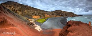 A Lava Landscape ...