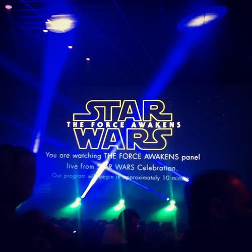 The force is nogal strong vanavond #starwars #starwarscelebration