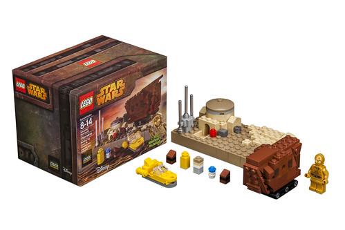 LEGO Star Wars Tatooine Mini-build