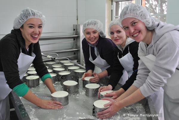 29 - Невероятные приключения москвичек в Каштелу Бранку - quinta - мастер-класс по приготовлению сыра (традиционного португальского)