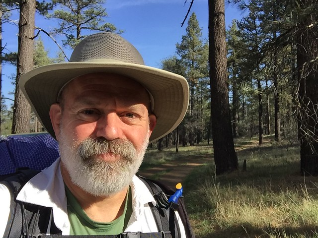 PCT Day 3.  Walking into Mount Laguna