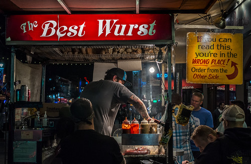 It was the best of food, it was the wurst of food. by Geoff Livingston