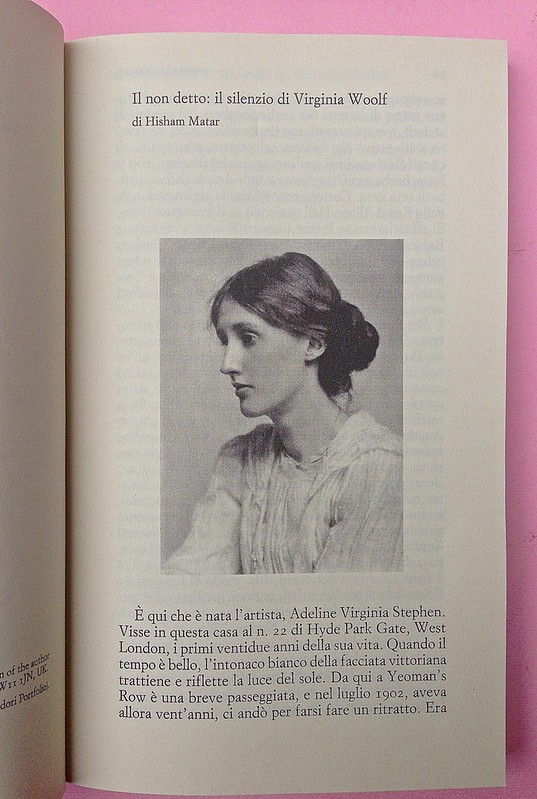 Virgina Woolf, Gita al Faro. Einaudi 2014. Progetto grafico di 46xy. Introduzione, incipit, a pag. V (part.), 1
