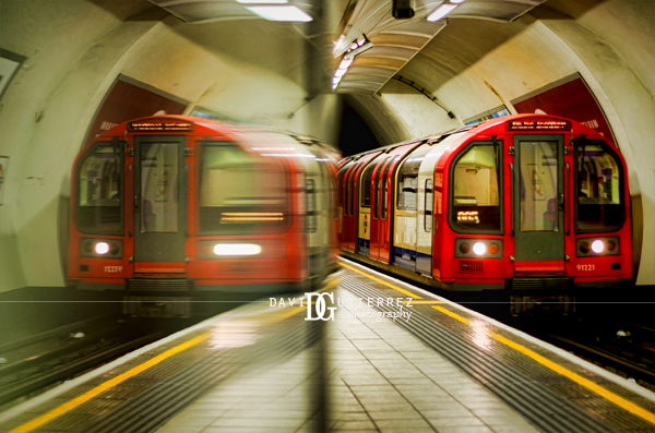 Entwined...London Underground, UK by David Gutierrez Photography.
