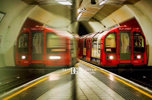 Entwined...London Underground, UK by David Gutierrez Photography.