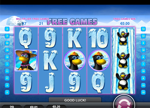 free Penguin Vacation Mobile free spins