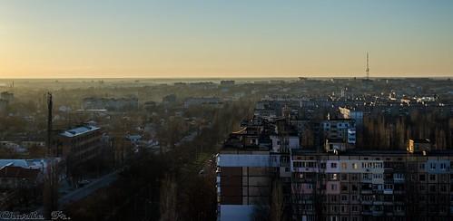 sunset haze roofs