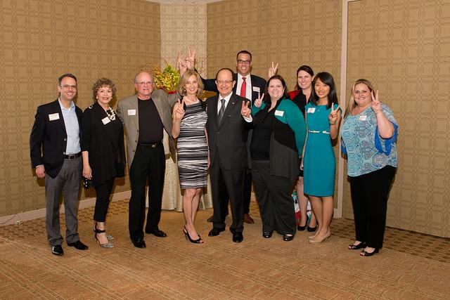 Trojan Family Reception in Texas