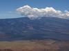 Mauna Loa peak in cloud