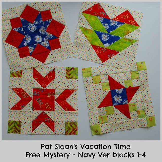 pat sloan vacation time navy block 1 to 4