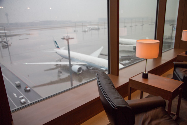 Photo:Business Class CathayPacific HND to HK キャセイパシフィック航空ビジネスクラス By Norio.NAKAYAMA
