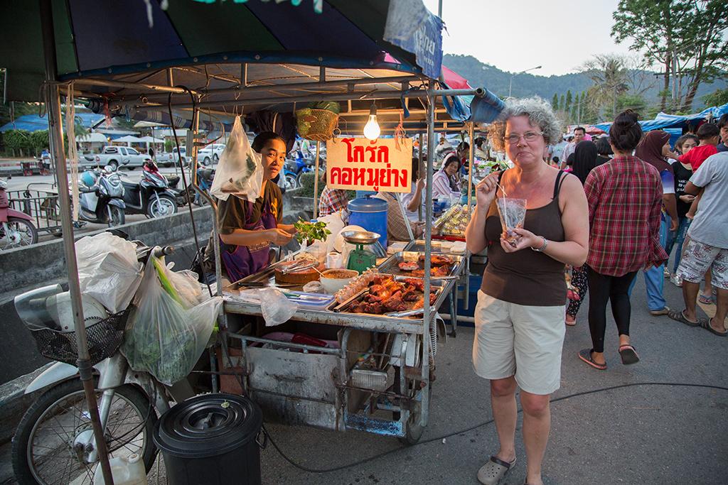 Kuraburi night market