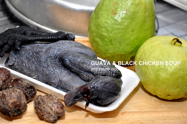 Philips Pressure Cooker Guava Soup with Black Chicken 2