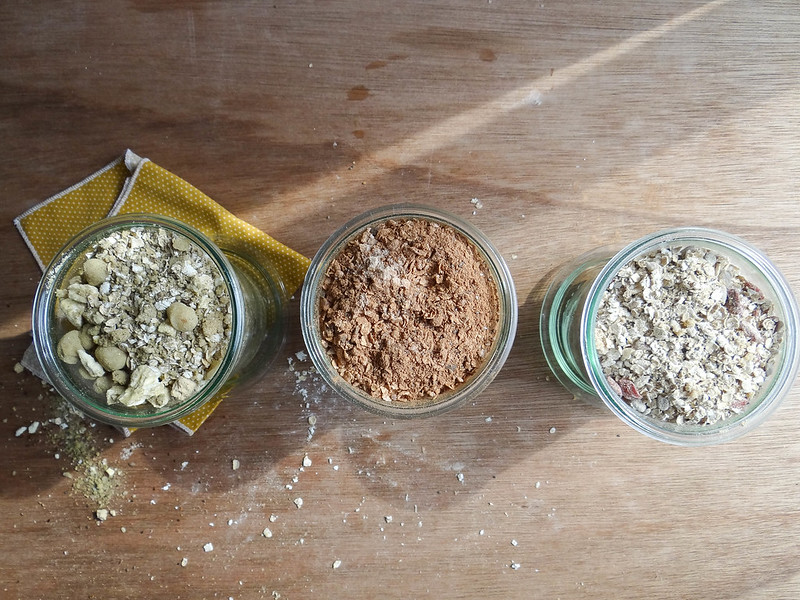 DIY: instant oatmeal // 3 ways
