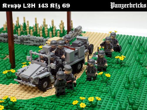 Lkw Krupp L2H 143 Kfz 69 de Panzerbricks