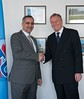 His Excellency Mr Allam Mousa, Minister of Telecommunications and Information Technology of Palestine meets with Malcolm Johnson at ITU - 23 March 2015