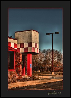 Abandoned Big Boy Restaurant