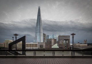 The Shard   What a grey day