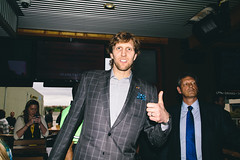 Content from Dirk Nowitzki, Leopold Hoesch and the filmmakers behind NOWITZKI