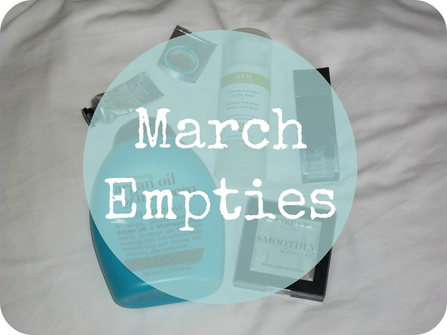 March 2015 Empties Bbloggers