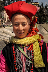 Women from the Hamong tribe in Sapa, northern Viet Nam, have seen a boost in tourism since the completion of the Hanoi - Lao Cai Expressway