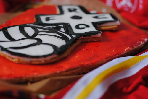 Rotherham United FOotball Club RUFC Biscuit