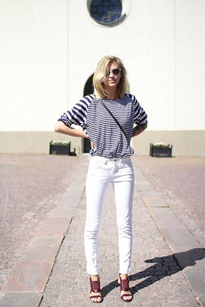 Stripes Navy Style Inspiration Streetstyle10