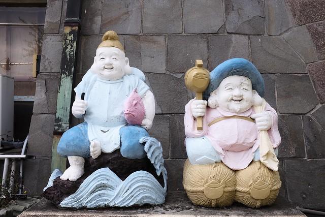 熱海城・浅野祥雲コンクリート像