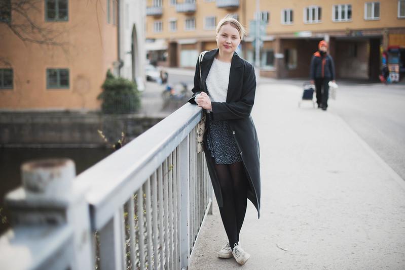 Stockholm, april